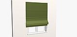 Однотонна декоративна тканина кольору зелені з тефлоном TDRY-81013, фото 6