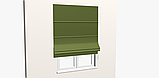 Однотонная декоративная ткань цвета зелени с тефлоном TDRY-81013, фото 6