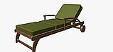 Однотонна декоративна тканина лісовий зелений тефлон TDRY-81126, фото 5