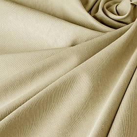 Однотонна декоративна тканина бежевий колір тефлон TDRS-81024