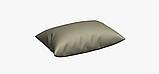 Однотонна декоративна тканина сірого кольору з тефлоном TDRM-81192, фото 4