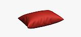 Однотонная декоративная ткань люминесцентно-красного цвета с тефлоном TDRK-81005, фото 4