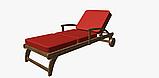 Однотонная декоративная ткань люминесцентно-красного цвета с тефлоном TDRK-81005, фото 5