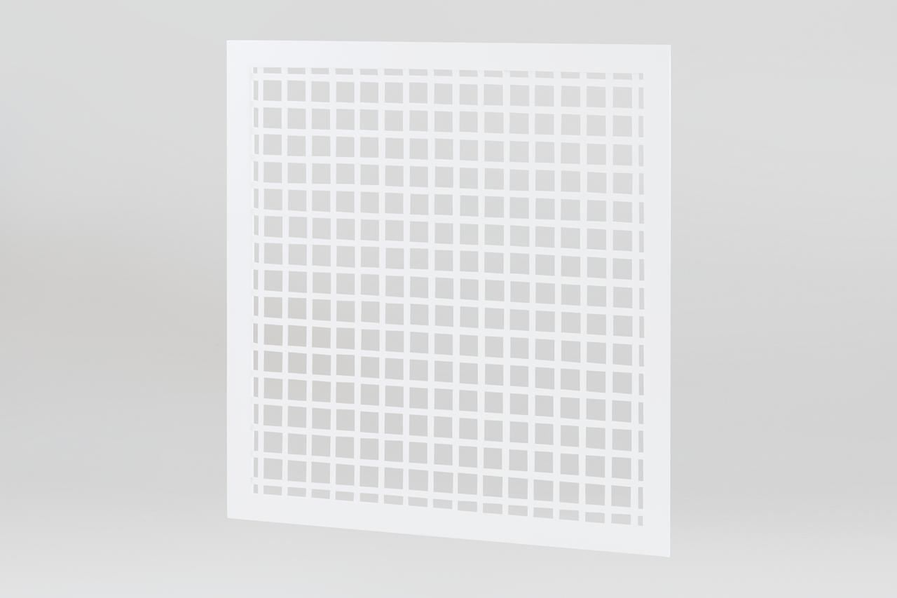 Вентиляційна решітка з перфорованого листа 300х300