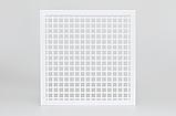 Вентиляційна решітка з перфорованого листа 500x500, фото 4