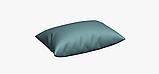 Однотонная декоративная ткань бледно-синего цвета с тефлоном DRM-82760, фото 4