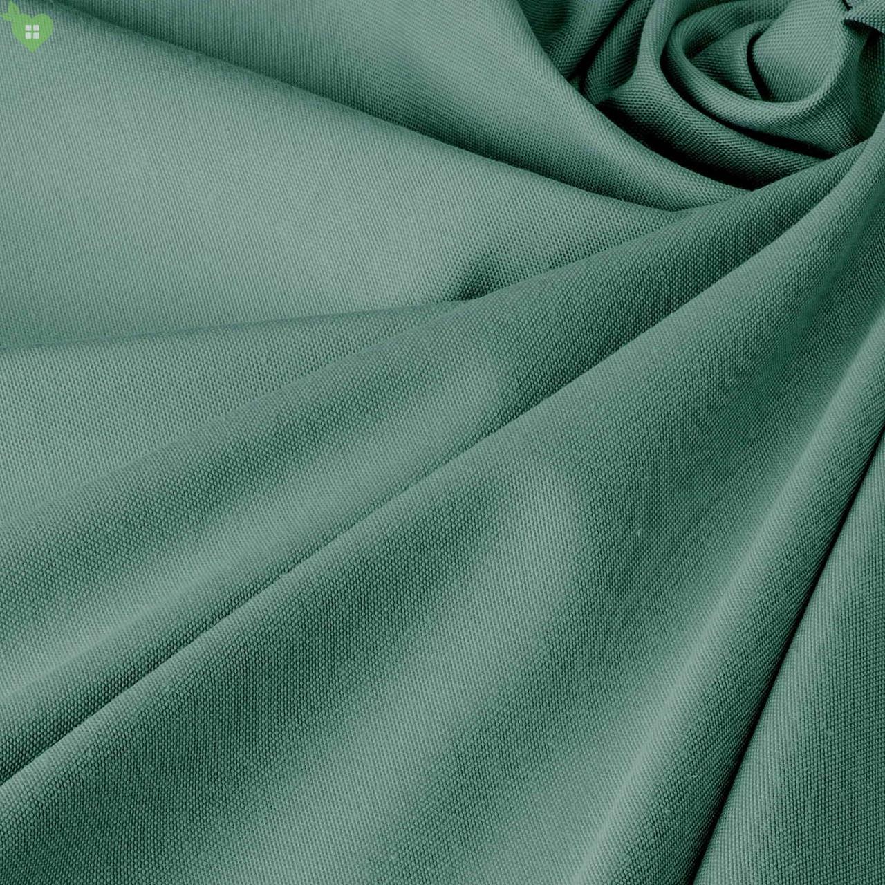 Однотонна декоративна тканина ялинового кольору Туреччина DRM-82552