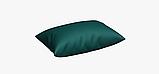 Однотонна декоративна тканина кольору темної бірюзи Туреччина DRM-82556, фото 4