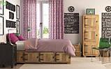 Однотонна декоративна тканина ліловий вечір Туреччина DRM-81389, фото 2