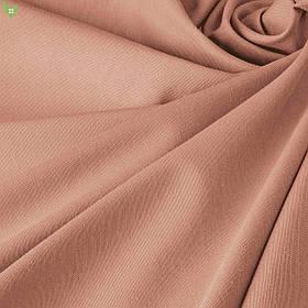 Однотонна декоративна тканина кремово-рожевого кольору Туреччина DRK-82554