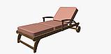 Однотонная декоративная ткань кремово-розового цвета Турция DRK-82554, фото 4