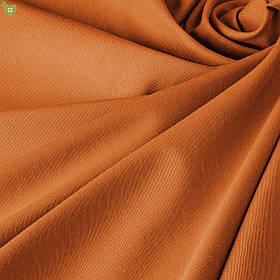 Однотонная декоративная ткань оранжевого цвета тефлон DRK-81010