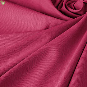 Однотонная декоративная ткань малиновая Турция DRK-81016