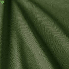 Однотонная декоративная ткань глубокого оливково-зеленого цвета Турция DRY-83170