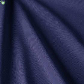 Однотонна декоративна тканина полуночно-синього кольору з тефлоном DRM-83167
