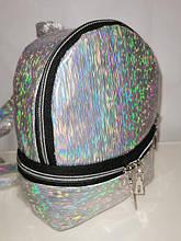 Женский рюкзак лазерным глянцевый качество городской стильный Популярный  Производитель: Украина  Материал: