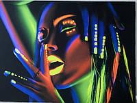 Флуоресцентні картини на тканини