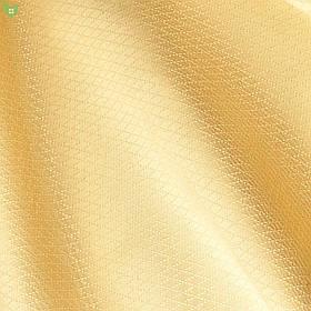 Однотонная скатертная ткань золотистого цвета в мелкий ромбик Италия 83111v3