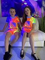 Летний детский сарафан светящийся Instagram