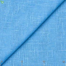 Однотонная тюль голубого цвета 82878v2