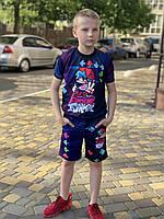 Летний детский костюм светящийся FortNite FunKik