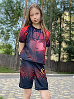 Летний детский костюм светящийся Итачи