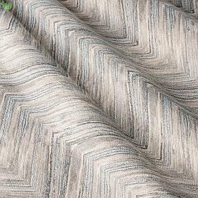 Тюль зигзаг серый на бежевом фоне Испания 82873v1