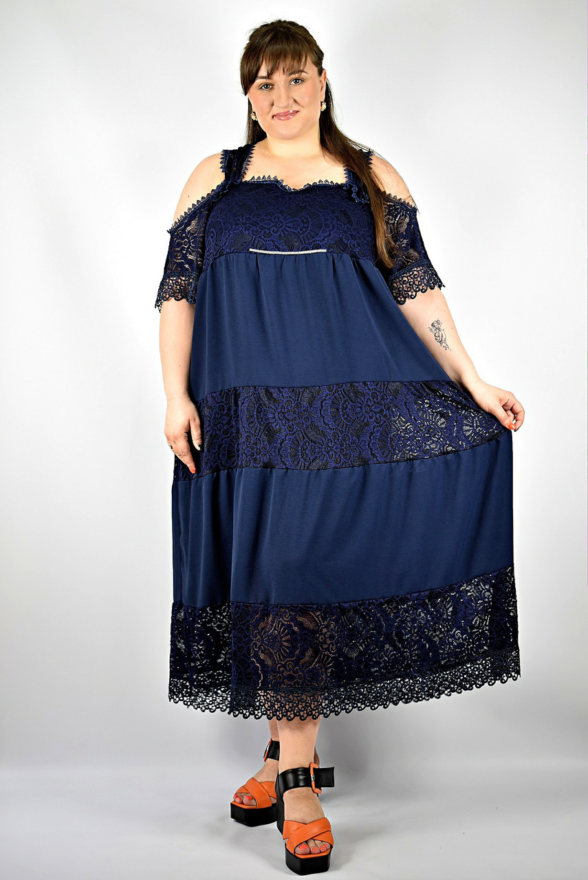 Платье женское от 54 до 66  большие размеры