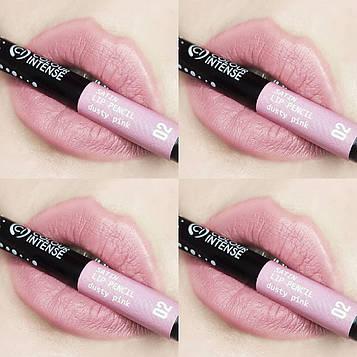 Олівець для губ механічний COLOUR INTENSE Satin Lip pencil №02 Dusty Pink