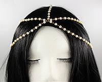 Тіара (прикраса) на голову Богема (срібло) №45