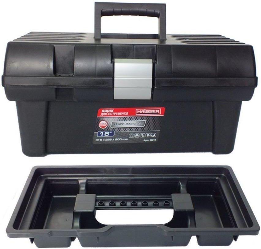 Ящик для инструментов 16 (90012)  Haisser Staff Basic Alu