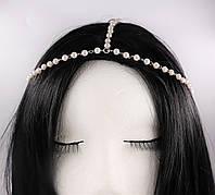Тіара (прикраса) на голову Богема (срібло) №45, фото 1
