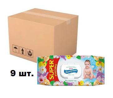 Салфетка влажная Superfresh 120 шт Baby