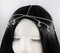 Східна ланцюжок Тика на голову Місяця (срібло) №71