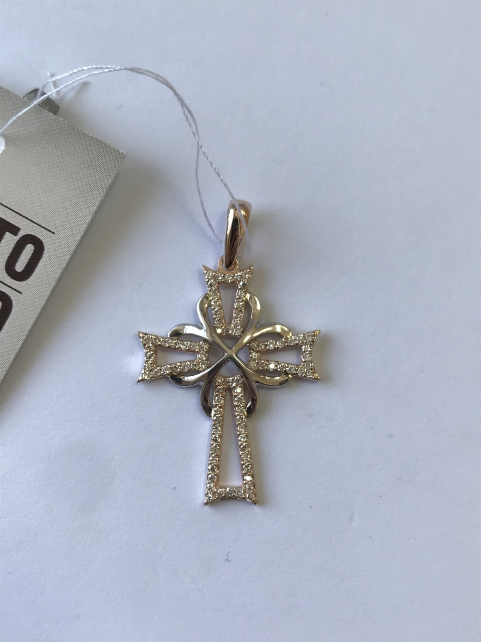 Хрестик золотий , вага 2,8 г