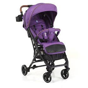 Легкая прогулочная коляска EL CAMINO ME 1039L IDEA  Violet Фиолетовый лен