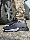 Кросівки чоловічі 18641, темно-сірі [ 42 43 45 ] р.(42-27,5 см), фото 3