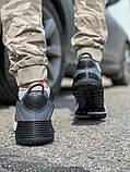 Кросівки чоловічі 18641, темно-сірі [ 42 43 45 ] р.(42-27,5 см), фото 5
