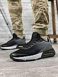 Кросівки чоловічі 18641, темно-сірі [ 42 43 45 ] р.(42-27,5 см), фото 8