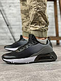 Кросівки чоловічі 18641, темно-сірі [ 42 43 45 ] р.(42-27,5 см), фото 10