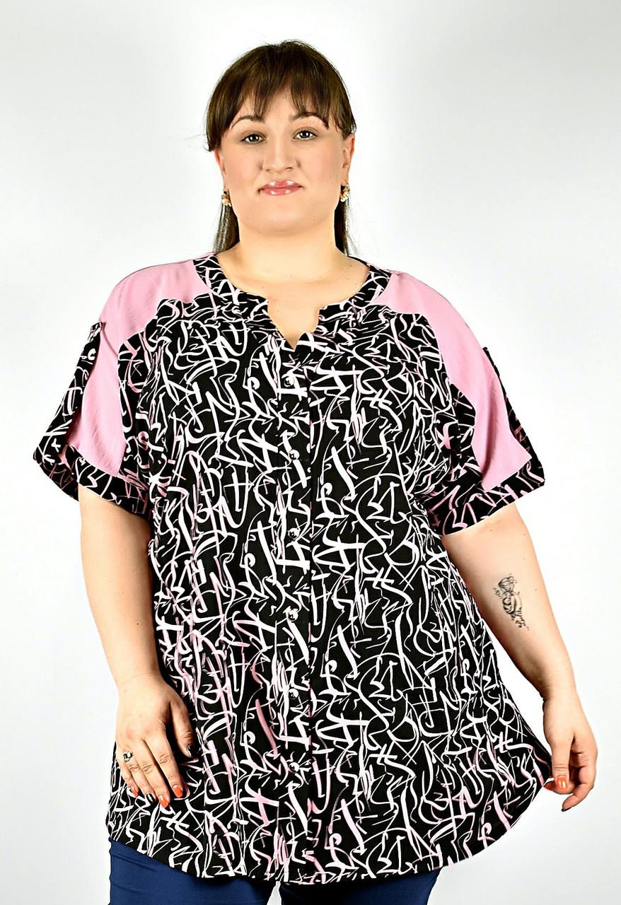 Туніка жіноча від 52 до 72 великі розміри