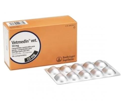 Ветмедин10 мг 50 таб Vetmedin (Ветмедін)