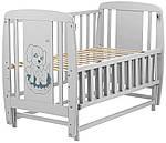 Кровать Babyroom Собачка маятник, откидной бок DSMO-02 бук серый, фото 3