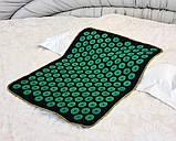 Массажный коврик Аппликатор Кузнецова (акупунктурный игольчатый массажер для спины) OSPORT Lite 50 (apl-004), фото 10
