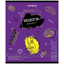 Предметная тетрадь Kite Classic K21-240-01, 48 листов, клетка, биология