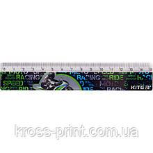 Лінійка пластикова Kite Racing К19-090-4, 15 см