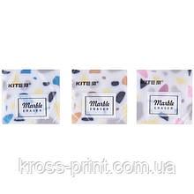 "Ластик цветной Kite ""Marble"" K20-021, асорти"