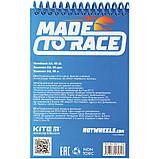 Блокнот пластиковий Kite Hot Wheels HW21-196, А6, 48 аркушів, нелинованный, фото 3