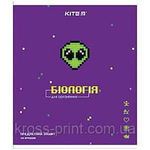 Предметная тетрадь Kite Pixel K21-240-09, 48 листов, клетка, биология