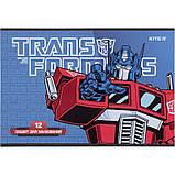 Тетрадь для рисования Kite Transformers TF21-241, 12 листов, фото 2